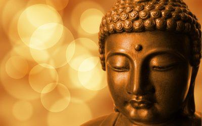 Doi călugări budiști și un lift
